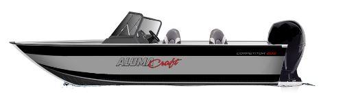 Image of 2021 Alumacraft Competitor Sport 205