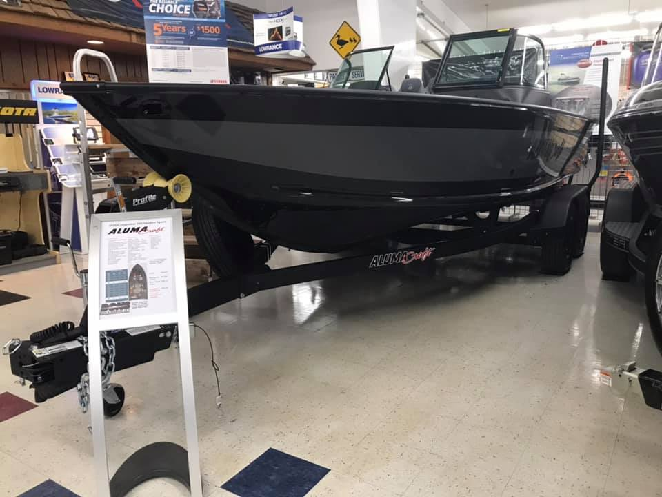 Image of 2020 Alumacraft Competitor 205 Shadow Sport