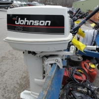 Image of 1990 Johnson 25RLESB