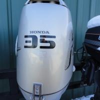 Image of 1994 Honda 35hp Tiller